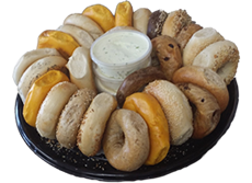 Bagel and Cream Cheese Tray